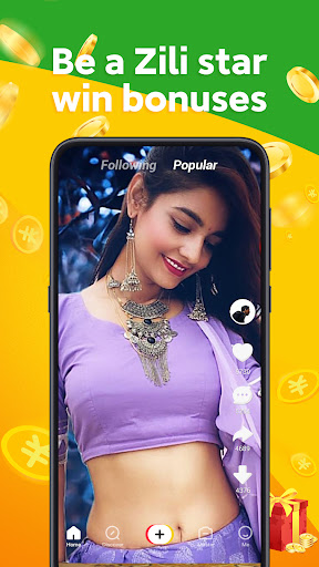 Zili - Short Video App for India | Funny android2mod screenshots 3