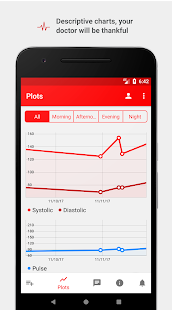 Cardio Journal u2014 Blood Pressure Log 3.2.7 Screenshots 3