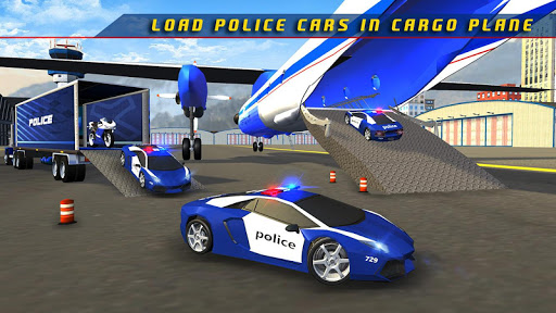 Police Plane Transporter Game  screenshots 14
