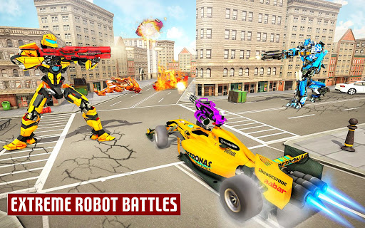 Dragon Robot Car Game u2013 Robot transforming games 1.3.6 Screenshots 16