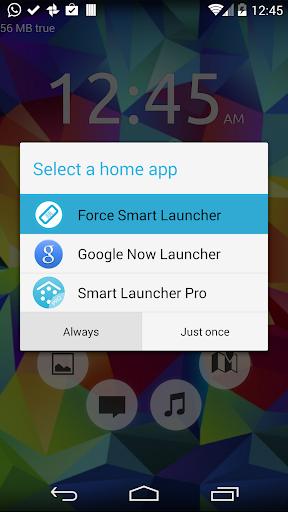 Default choice fixer for Smart Launcher 1.1 Screenshots 2