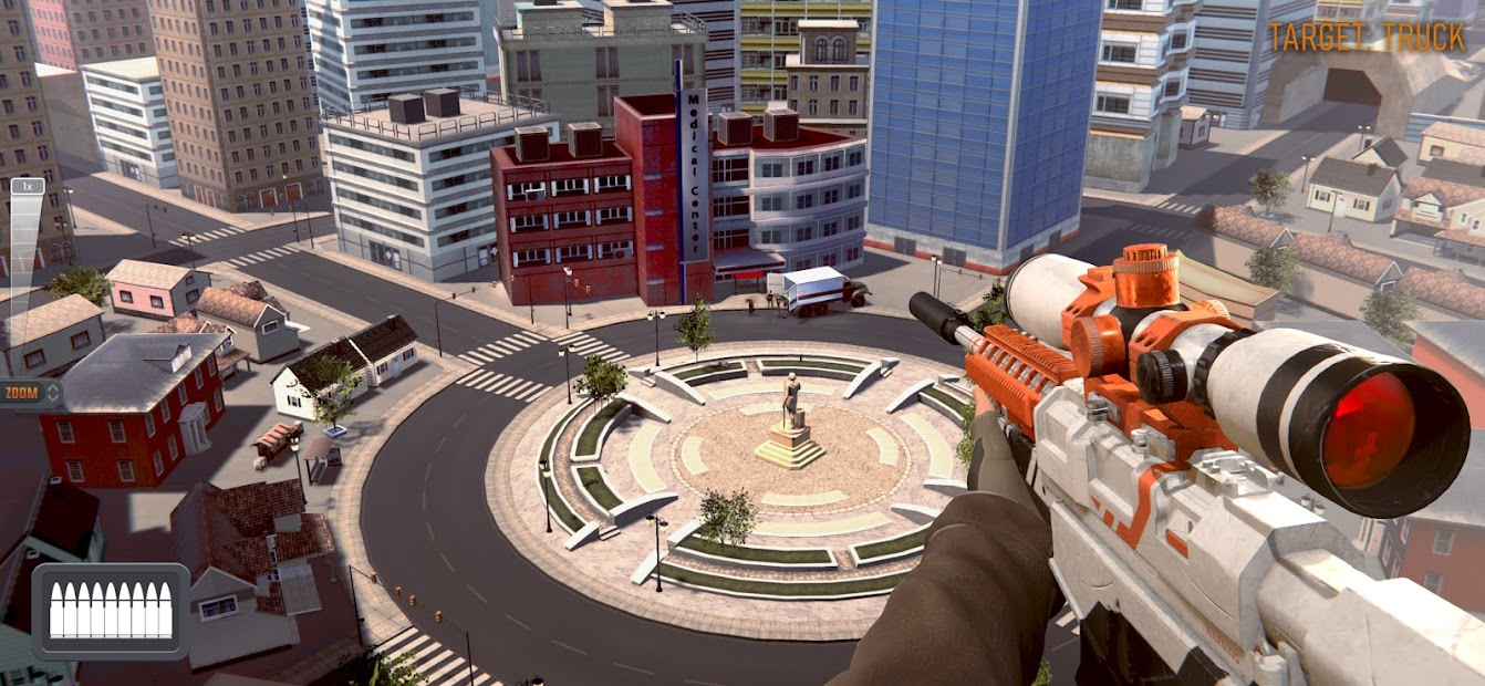 Sniper 3D: Fun Free Online FPS Shooting Game Android App Screenshot