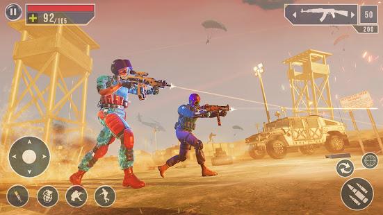 IGI Cover Fire Gun Strike: FPS Shooting Game screenshots 9