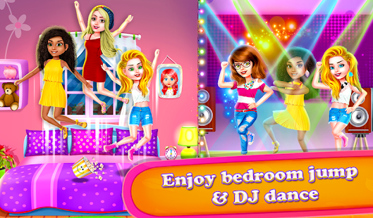 Crazy BFF Princess PJ Night Out Party Screenshot
