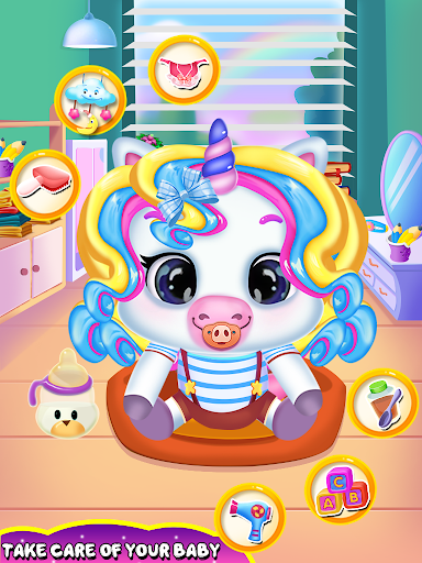 Unicorn daycare activities.  screenshots 1