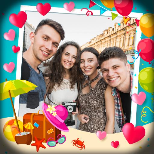 Baixar Multi Photo Frames - Create Album & Collage para Android