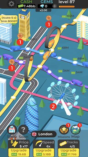 Subway Idle 3D 2.8 screenshots 2