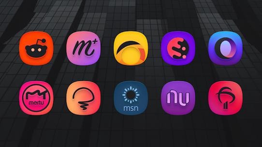 SuperBlack Icon Pack (MOD, Paid) v1.9 5