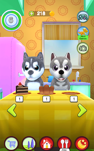 Talking Husky Dog screenshots 14