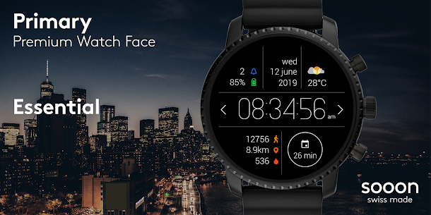 Primary Watch Face  For Pc – Free Download And Install On Windows, Linux, Mac 1