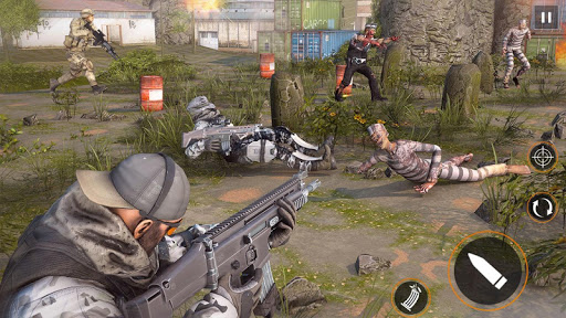 Free Games Zombie Force: New Shooting Games 2021 1.5 screenshots 1