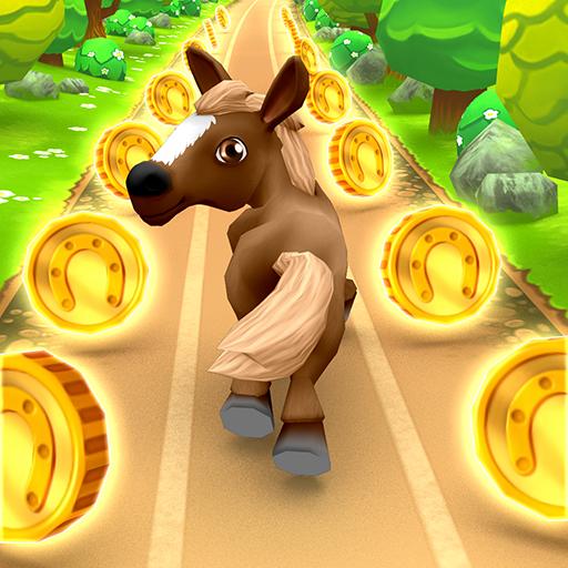 Pony Run - Magical Pony Runner Horse Game
