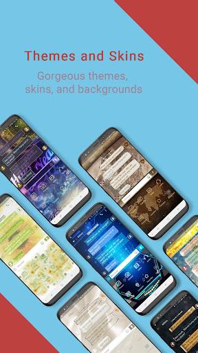 Handcent Next SMS - Best texting w/ MMS & stickers 9.3.5 screenshots 2