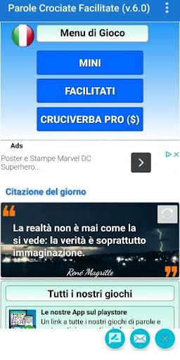 Cruciverba e Parole Crociate Facilitati gratis 8.1 screenshots 2