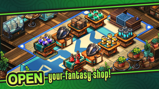 Tiny Shop: Idle Fantasy Shop Simulator screenshots 1