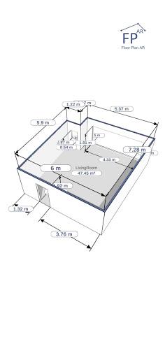 Floor Plan AR   Room Measurement 12.7 Screenshots 3