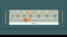新幹線っぽい速度計のおすすめ画像2