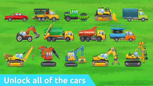 Build a House with Building Trucks! Games for Kids  screenshots 12