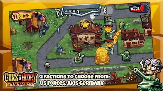 تحميل لعبة Guns'n'Glory WW2 مهكرة اخر اصدار Mod 2