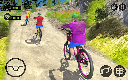Offroad BMX Rider: Mountain Bike Game Apkfinish screenshots 10