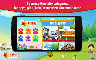Jigsaw puzzles for kids free boys and girls games