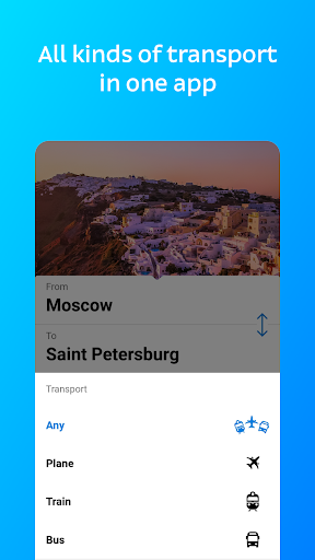 Tutu.ru - flights, Russian railway and bus tickets android2mod screenshots 1