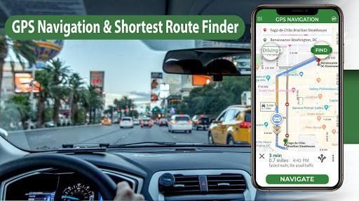 gps navigation & maps - directions, route finder screenshot 1