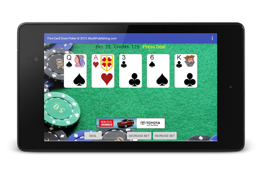 Five Card Draw Poker 1.20 screenshots 22