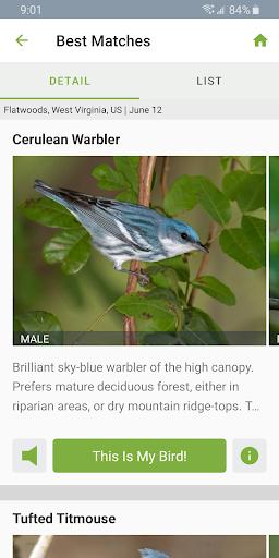 Merlin Bird ID by Cornell Lab screenshot 3