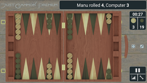Backgammon Game - JustGammon 1.1.3 Screenshots 1