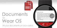 Documents for Wear OS (Android Wear)のおすすめ画像1