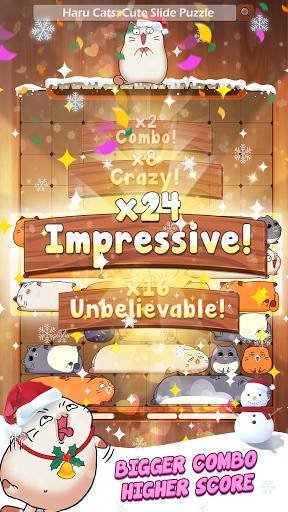 Haru Cats® - Fun Slide Puzzle - Free Flow Zen Game  screenshots 4