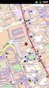 Edinburgh Offline City Map