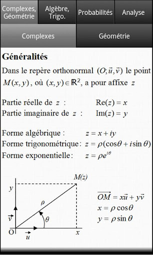 Formules Maths Bac S For PC Windows (7, 8, 10, 10X) & Mac Computer Image Number- 5