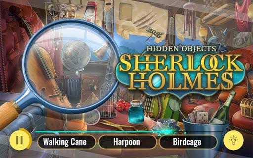 Sherlock Holmes Hidden Objects Detective Game 3.07 screenshots 13