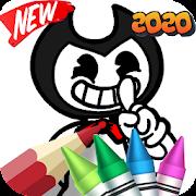 bendy coloring book 2020