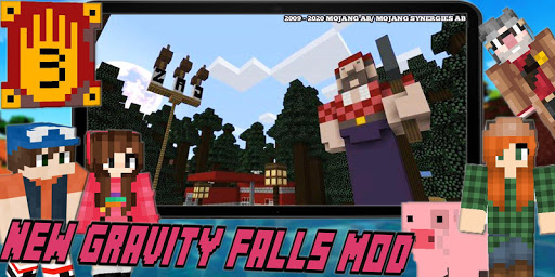 New Mystery Gravity Falls Town Mod For MCPE Craft goodtube screenshots 2