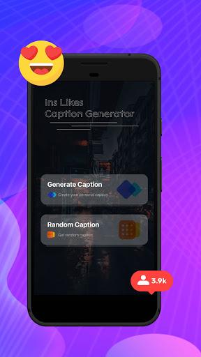Ins Likes Caption Generator screen 0