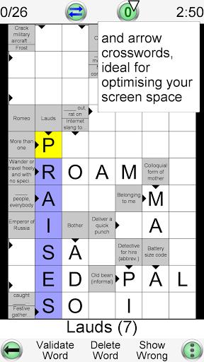 Barred Crossword 3.0.3 screenshots 3