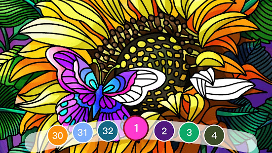 Color by Number: Oil Painting Coloring Book 1.801 screenshots 1