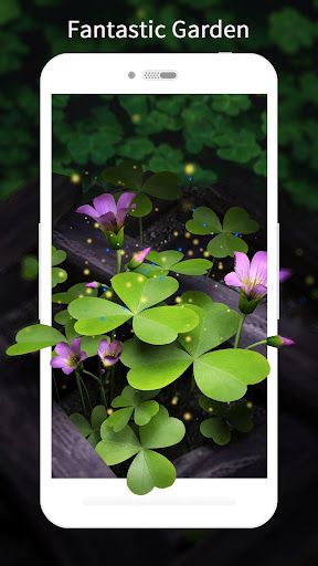 3D Flowers Live Wallpaper HD 1.6.7 screenshots 2