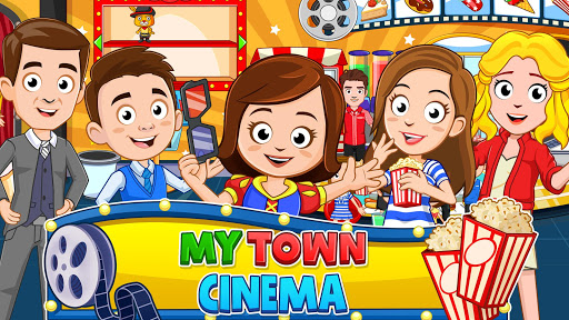 My Town : Cinema & Movie Star - Kids Movie Night 1.10 screenshots 1