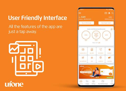 My Ufone android2mod screenshots 2