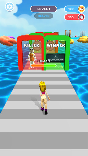 Heaven or Hell 3D - Squid Game  screenshots 1