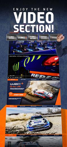 WRC u2013 The Official App apktram screenshots 4