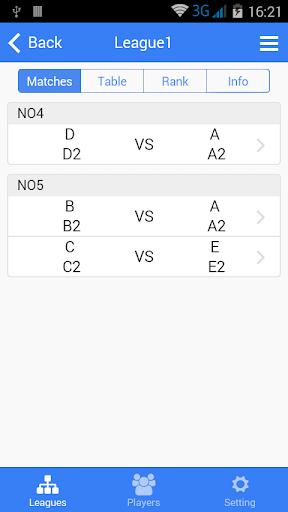 badminton tournament maker screenshot 3