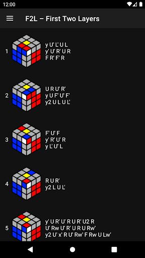 Cube Guide - how to solve Rubik's Cube apktram screenshots 5