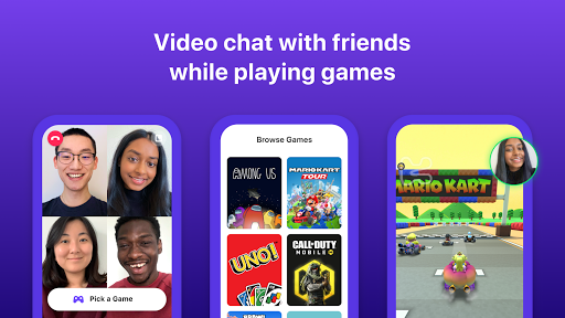Bunch: Group Video Chat & Party Games 6.28.0 Screenshots 1