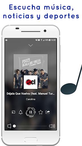 Radio Chile: Online Radio, FM Radio and AM Radio 2.3.63 screenshots 1