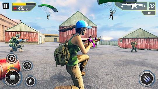 Commando Secret Mission Mod Apk (God Mode) 7